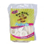 Petisco para Cães Mini Donuts de Couro Petiscão 500g
