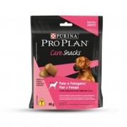 Petisco para Cães Pro Plan Care Snacks Pelo e Pelagem Salmão 80g