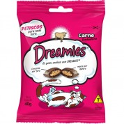 Petisco Snacks Dreamies Para Gatos Sabor Carne 40g