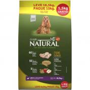 PROMOÇÃO BONUS BAG! Ração Guabi Natural Cachorros Adultos Raças Médias Frango e Arroz Integral 16,5kg