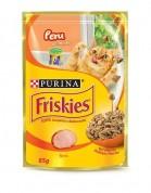 Imagem - Ração Alimento Úmido Para Gatos em Sachê Friskies Peru 85g