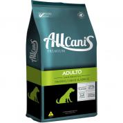 Ração Allcanis Cachorros Adultos Frango, Carne e Arroz 15kg