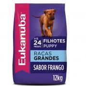 Imagem - Ração Eukanuba Cães Filhotes Raças Grandes 12kg