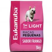 Ração Eukanuba Light Cães Raças Pequenas 3kg
