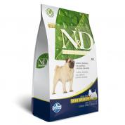 Raçao Farmina N&D Cães Adultos Raças Pequenas Cordeiro Grain-Free 2,5kg