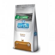 Ração Farmina Vet Life Diabetic para Gatos Adultos Diabéticos 400g