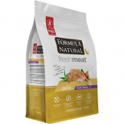 Ração Fórmula Natural Fresh Meat Gatos Adultos Pelos Longos Salmão 1kg