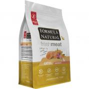 Ração Fórmula Natural Fresh Meat Gatos Castrados Salmão, Abóbora e Cúrcuma 1kg
