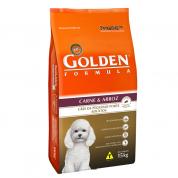 Ração Golden Cães Carne e Arroz Mini Bits 15kg