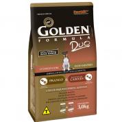 Ração Golden Duo Mini Bits Frango e Carne 3kg