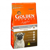 Ração Golden Fórmula Adulto Light Mini Bits Frango e Arroz 3kg
