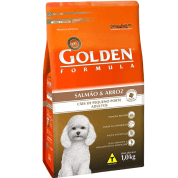 Ração Golden Fórmula Adulto Mini Bits Salmão e Arroz 1kg