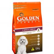 Ração Golden Formula Adultos Carne e Arroz Mini Bits 1kg