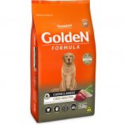 Imagem - Ração Golden Fórmula Cachorros Adultos Carne e Arroz 15kg