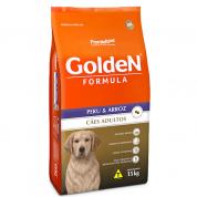 Ração Golden Fórmula Cachorros Adultos Peru e Arroz 15kg