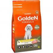 Ração Golden Fórmula Cachorros Adultos Peru e Arroz Mini Bits 1kg