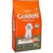 Ração Golden Fórmula Cachorros Adultos Salmão Mini Bits 10,1kg