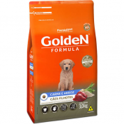 Ração Golden Fórmula Cachorros Filhotes Carne e Arroz 3kg