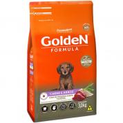 Ração Golden Formula Cachorros Filhotes Carne e Arroz Mini Bits 3kg