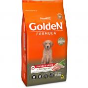 Ração Golden Fórmula Cachorros Filhotes Frango e Arroz 15kg