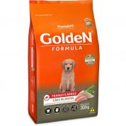 Ração Golden Fórmula Cachorros Filhotes Frango e Arroz 20kg