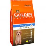 Ração Golden Fórmula Cães Filhote Carne e Arroz 15kg