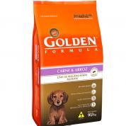 Ração Golden Formula Filhotes Carne e Arroz Mini Bits 10,1Kg