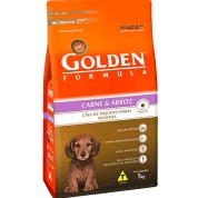 Ração Golden Formula Filhotes Carne e Arroz Mini Bits 1kg