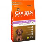Ração Golden Formula Filhotes Carne e Arroz Mini Bits 3kg