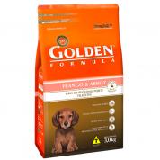 Ração Golden Fórmula Filhotes Mini Bits Frango e Arroz 3kg