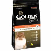 Imagem - Ração Golden Gatos Adultos Castrados Salmão 10,1kg