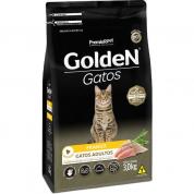 Imagem - Ração Golden Gatos Adultos Frango 3kg