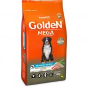 Imagem - Ração Golden Mega Cachorros Adultos Frango e Arroz 15kg