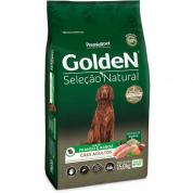 Ração Golden Seleção Natural Cachorros Adultos Frango e Arroz 15kg
