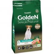 Ração Golden Seleção Natural Cachorros Adultos Frango e Arroz Mini Bits 1kg