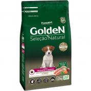 Ração Golden Seleção Natural Cachorros Filhotes Frango e Arroz Mini Bits 1kg