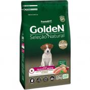 Ração Golden Seleção Natural Cachorros Filhotes Frango e Arroz Mini Bits 3kg