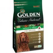 Ração Golden Seleção Natural Cães Adultos Frango 3kg