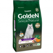 Ração Golden Seleção Natural Frango, Abóbora e Alecrim Cachorros Adultos Mini Bits 10,1kg