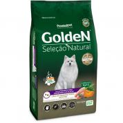 Ração Golden Seleção Natural Frango, Abóbora e Alecrim Cachorros Adultos Mini Bits 3kg