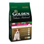 Ração Golden Seleção Natural Cães Filhotes Mini Bits Frango e Arroz 1kg