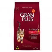 Ração Gran Plus Carne e Arroz Gatos Adultos 10,1kg
