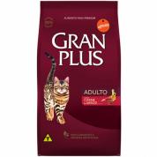 Ração Gran Plus Carne e Arroz Gatos Adultos 3kg
