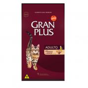 Ração Gran Plus Frango e Arroz Gatos Adultos 1kg