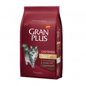 Ração Gran Plus Frango e Arroz Gatos Castrados 10kg