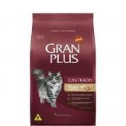 Ração Gran Plus Frango e Arroz Gatos Castrados 3kg
