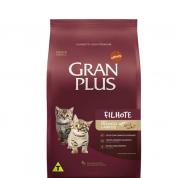 Ração Gran Plus Frango e Arroz Gatos Filhotes 3kg