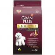 Ração Gran Plus Gourmet Cachorros Mini Adulto Ovelha e Arroz 3kg