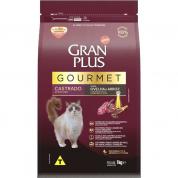 Ração Gran Plus Gourmet Ovelha e Arroz Gatos Castrados 1kg