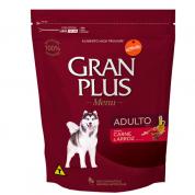 Ração Gran Plus Menu Carne e Arroz Cachorros Adultos 3kg